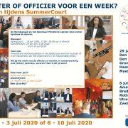 Wil jij een week lang het werk ervaren van een rechter of officier?